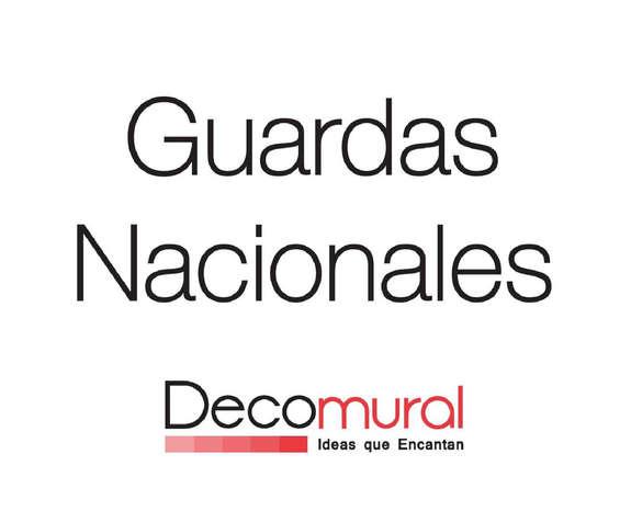 Ofertas de Decomural, Guardas Nacionales