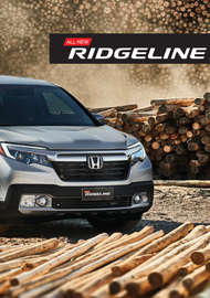 all new ridgeline