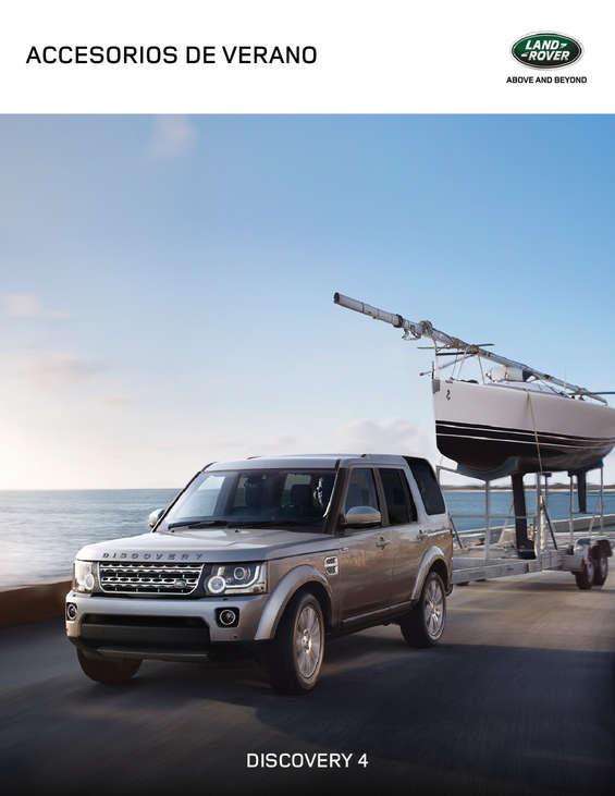 Ofertas de Land Rover, accesorios verano 2017