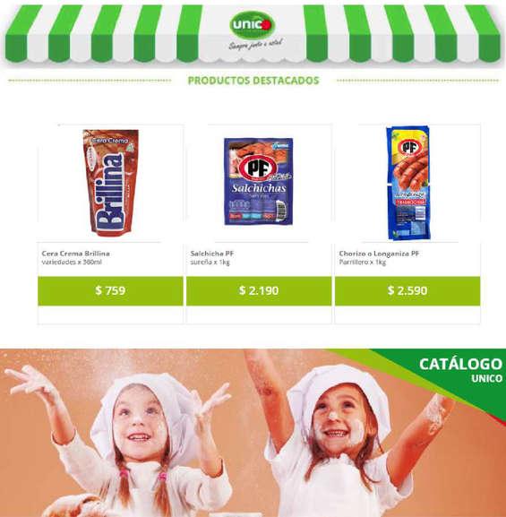 Ofertas de Supermercado Único, catálogo único