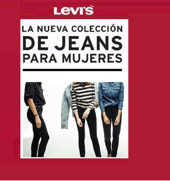 Ofertas de Levi's, ladies in levis