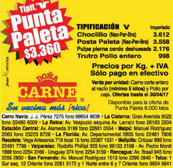 Ofertas de Doña Carne, ofertas carne