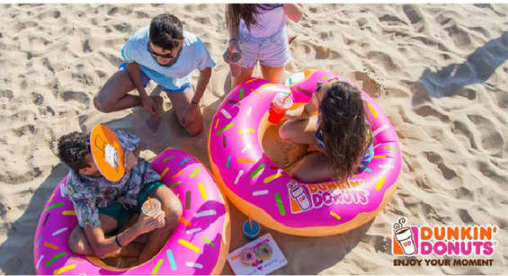 Ofertas de Dunkin Donuts, promo verano
