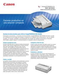 Scanner DR M1060 - Empresas