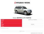 Ofertas de Mitsubishi, Mitsubishi montero 3.2 AT 5 puertas