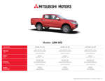 Ofertas de Mitsubishi, Mitsubishi L200 4X2