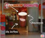 Ofertas de Dunkin Donuts, adelanto invierno