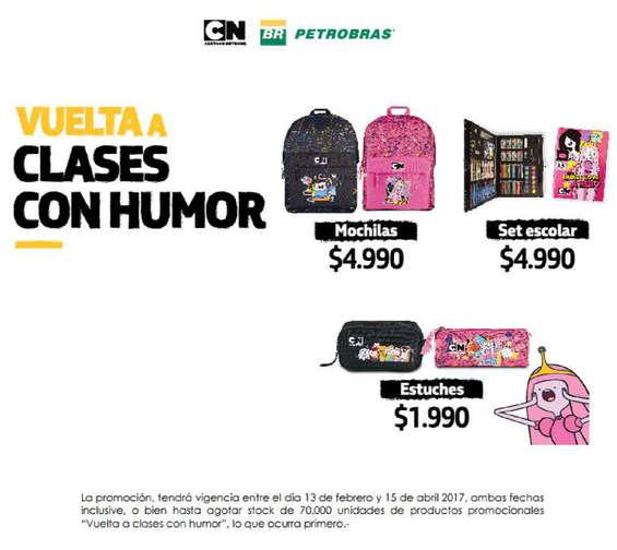 Ofertas de Petrobras, Vuelta a clases con humor