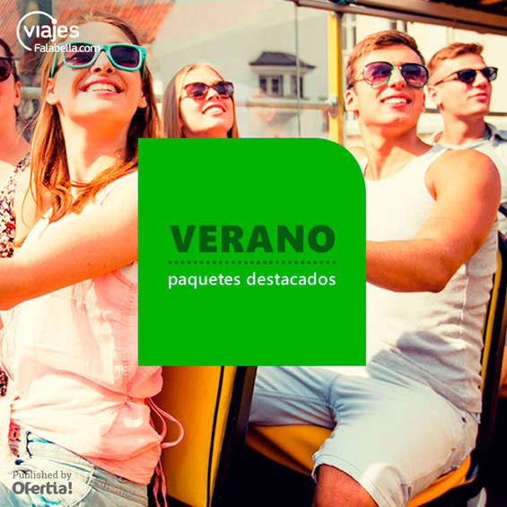 Ofertas de Viajes Falabella, Verano - Paquetes destacados