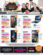 Ofertas de Johnson, escolares digitales