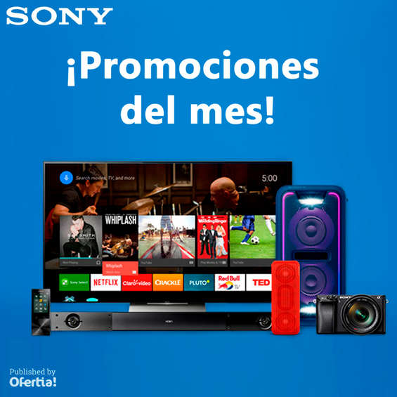 Ofertas de Sony Store, ¡Promociones del mes!