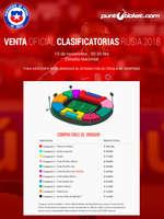 Ofertas de Punto Ticket, Venta Oficial Clasificatorias
