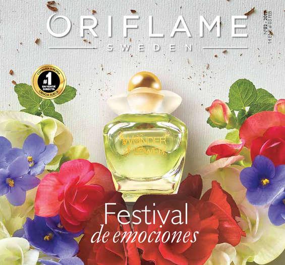 Ofertas de Oriflame, festival de emociones