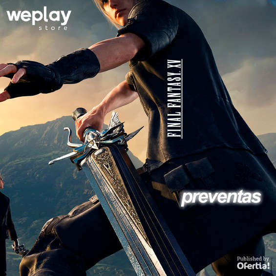 Ofertas de Weplay, preventas