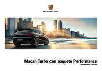 Macan Turbo con paquete Performance