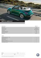 Ofertas de Volkswagen, nuevo beetle cabriolet