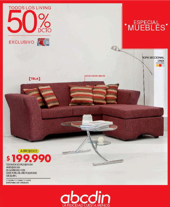 Ofertas de ABCDIN, especial muebles