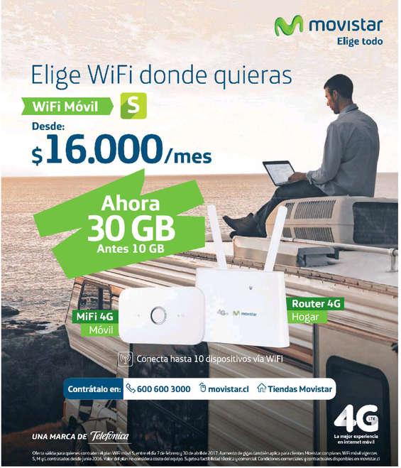 Ofertas de Movistar, wifi donde quieras