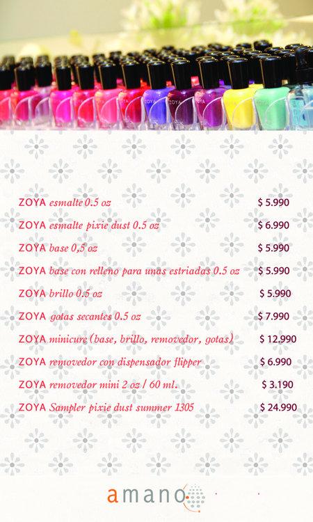 Ofertas de Tiendas Amano, productos zoya