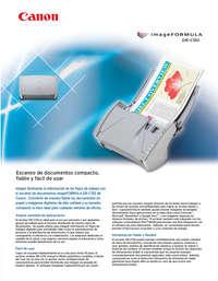 escaner dr-c130