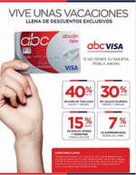 Ofertas de ABCDIN, ABC VISA