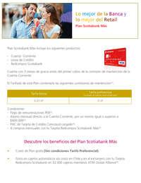 Plan Scotiabank Más