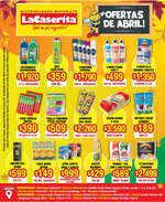 Ofertas de La Caserita, ofertas de abril