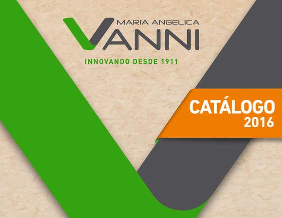 Ofertas de Vanni, Catalogo Maria Angelica Vanni 2016