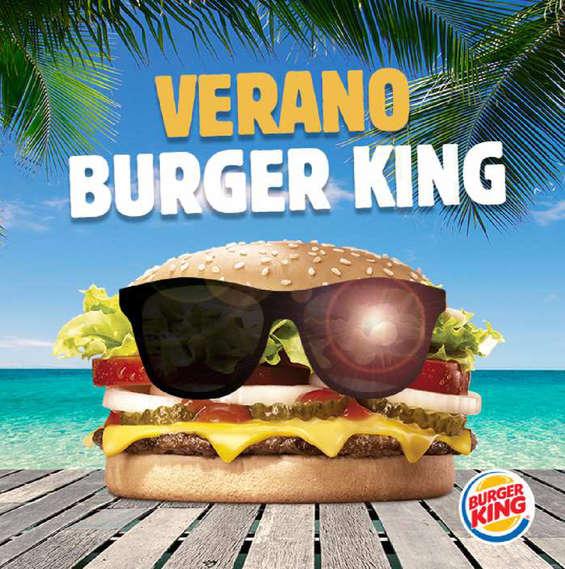 Ofertas de Burger King, verano burger