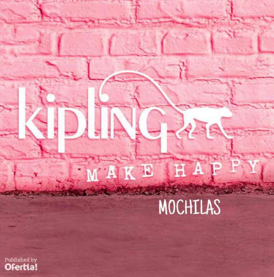 Ofertas de Kipling, nuevas mochilas