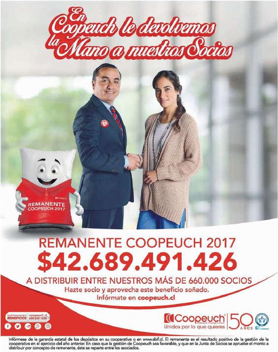 Ofertas de Banco Coopeuch, remanente 2017
