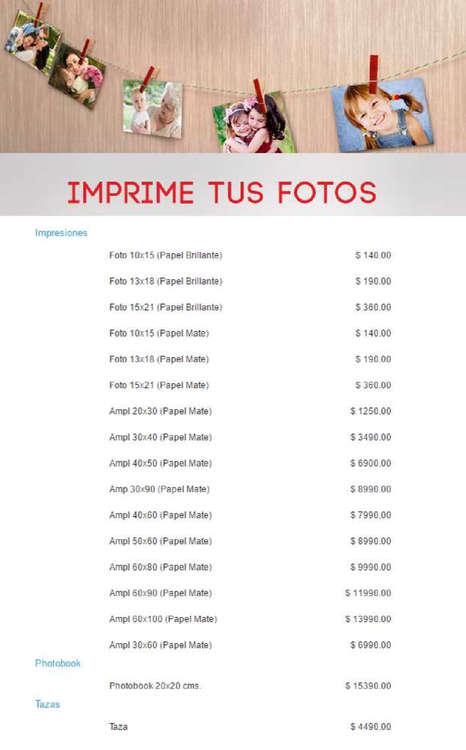 Ofertas de Kodak, imprime tus fotos