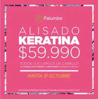 Oferta Alisado Keratina