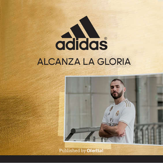 Ofertas de Adidas, alcanza la goria