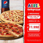 Ofertas de Telepizza, Promo abril