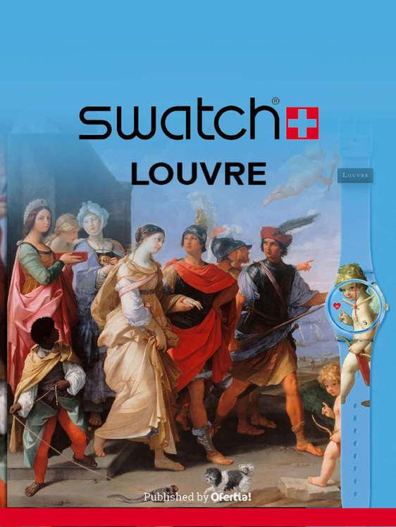 Ofertas de Swatch, Swatch louvre collection