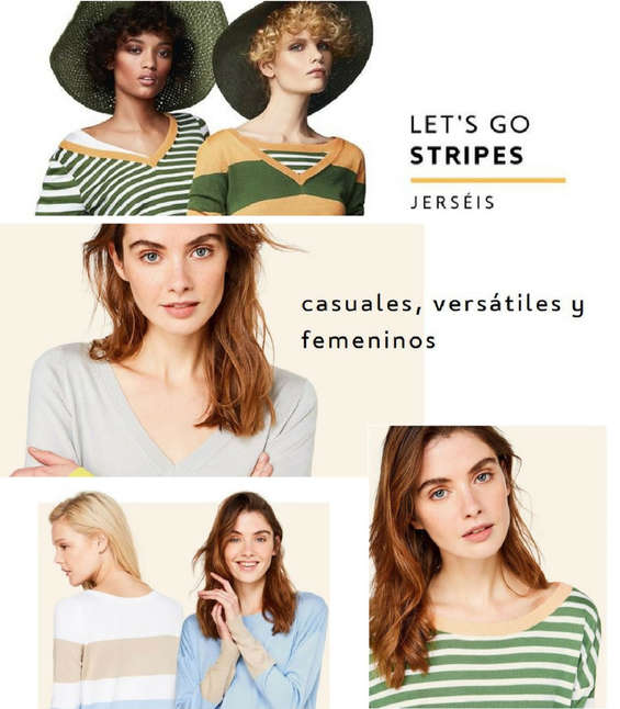 Ofertas de Benetton, Let's Go Stripes
