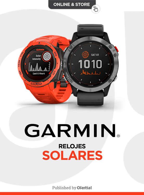 Ofertas de Garmín GPS, Solares