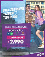 Ofertas de WOM, Nueva Bolsa Prepago