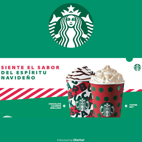 Ofertas de Starbucks, Siente El Sabor Del Espíritu Navideño