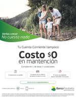 Ofertas de Banco Falabella, Costo $0