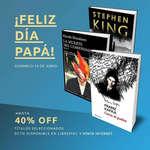 Ofertas de Feria Chilena del Libro, ¡Feliz Día Papá!