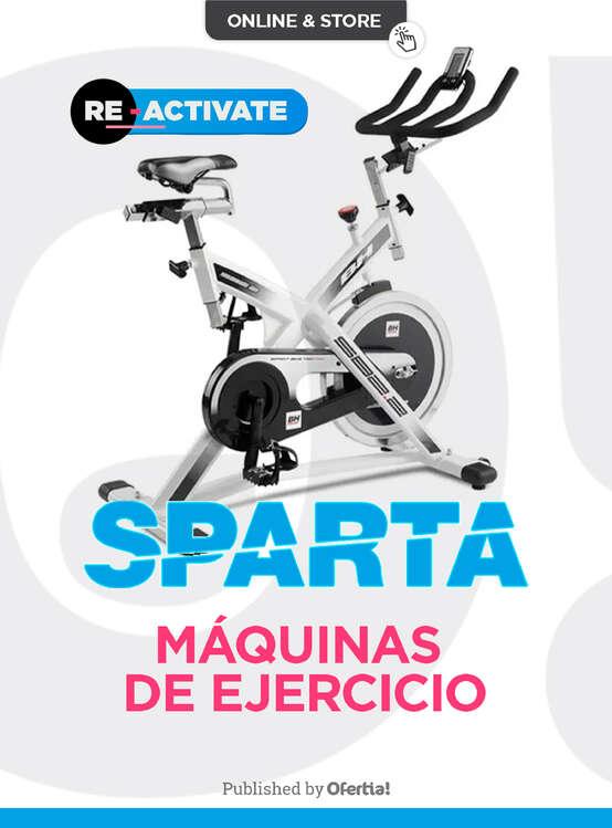 Ofertas de Sparta, Máquinas de ejercicio