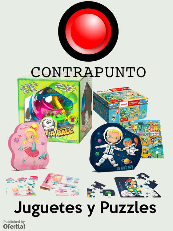 Ofertas de Contrapunto, Juguetes Y Puzzles