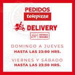 Ofertas de Telepizza, Delivery