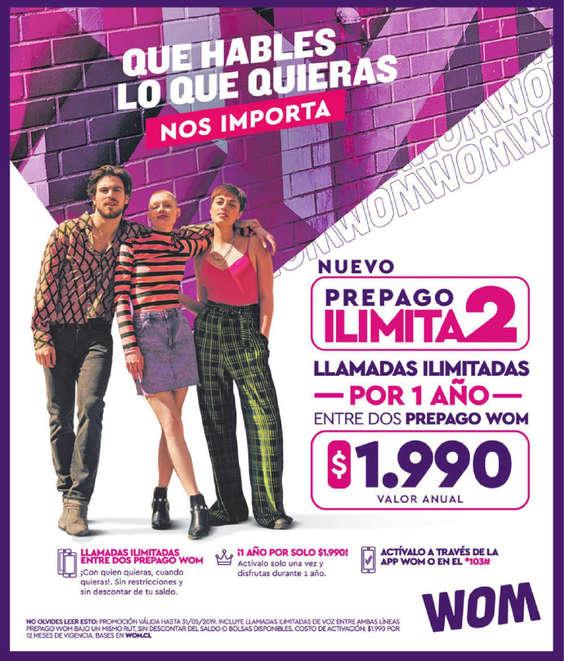 Ofertas de WOM, Prepago Ilimita2
