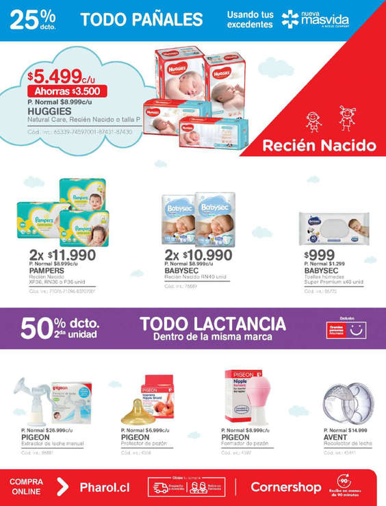 Ofertas de Farmacias Ahumada, Especial Mundo Bebé