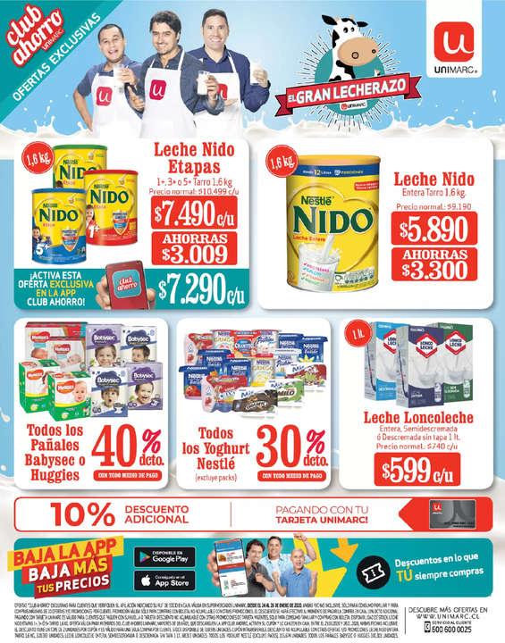 Ofertas de Unimarc, El Gran Lechazo