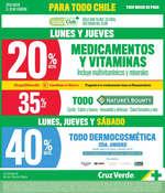 Ofertas de Cruz Verde, Lunes Y Jueves