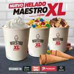 Ofertas de Juan Maestro, Nuevo helado maestro XL